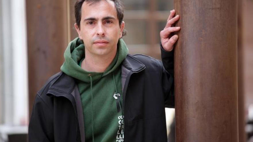 El regidor de la CUP de Reus David Vidal / JUDIT FERNÁNDEZ (Reus Digital - GDDC)