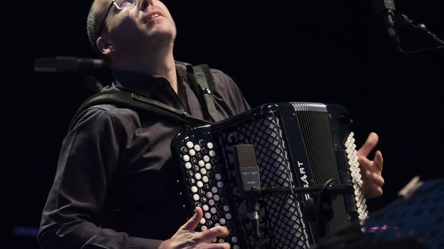 Ludovic Beier en el Festival de Jazz de San Javier/ GOIO VILLANUEVA