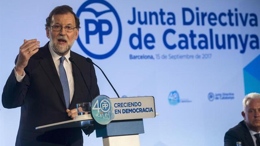 """Rajoy a los independentistas: """"Nos van a obligar a lo que no queremos llegar"""""""