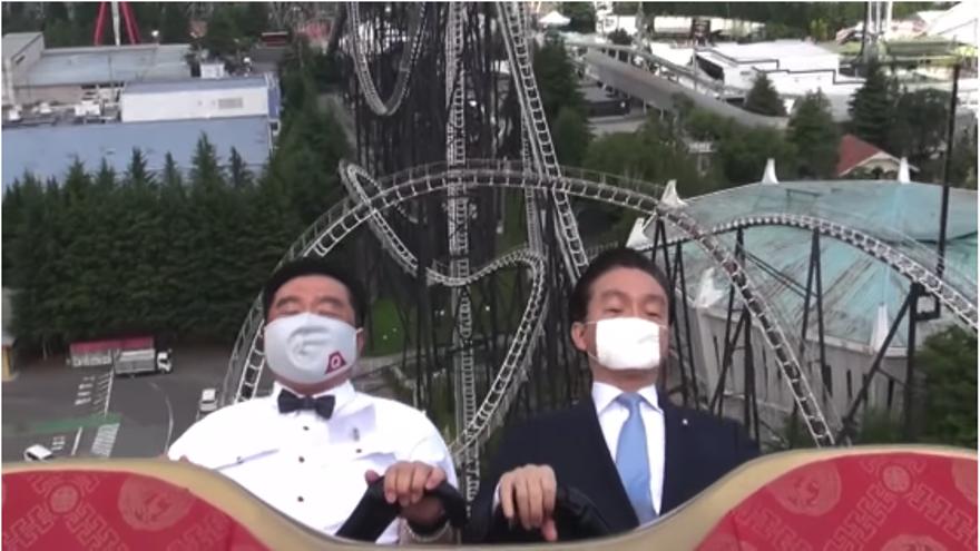 El parque de atracciones japonés Fuji-Q Highland ha publicado un vídeo para animar a la gente a que no grite cuando se suba en las atracciones.