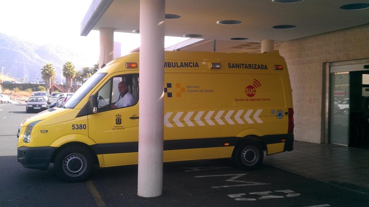 Imagen de archivo de una ambulancia del SUC.