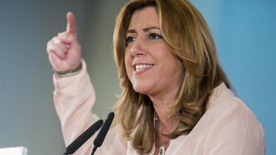 """Díaz pide unas primarias """"en positivo"""" para unir el PSOE y sea la alternativa"""