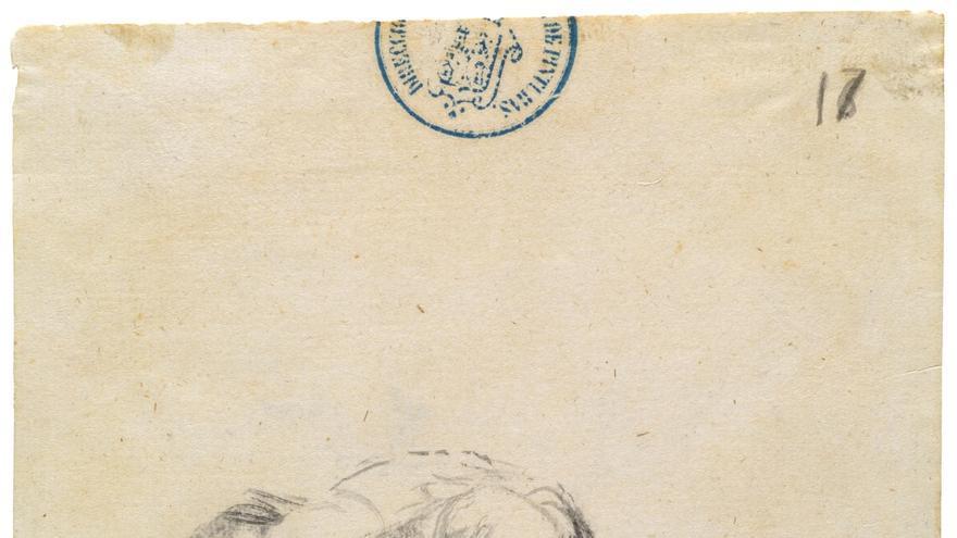 'Asi suelen acabar los hombres utiles', de Francisco de Goya y Lucientes.