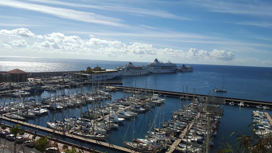 En la imagen, el puerto de Santa Cruz de La Palma.