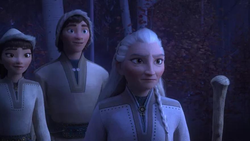 El personaje de Honeymaren, a la izquierda del todo