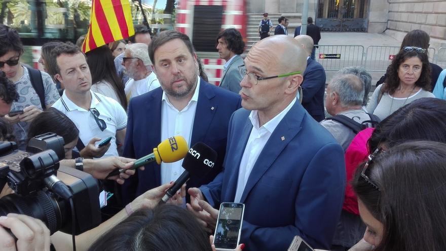 """Romeva critica al Estado por """"procesar a gente como Nuet que solo pide votar"""""""