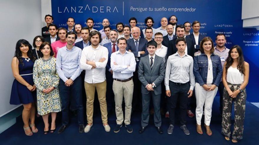 Juan Roig, dueño de Mercadona, en la presentación de la tercera edición de Lanzadera.
