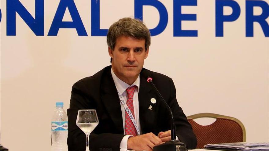 Ministro argentino estima que inflación de diciembre se sitúa en 3,5 por ciento