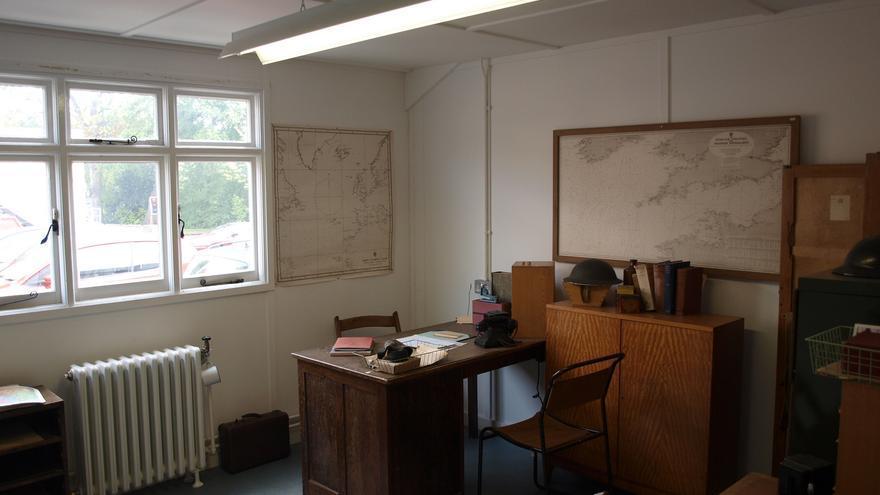 Uno de los despachos de Bletchley Park, desde donde se rompió el código nazi Enigma