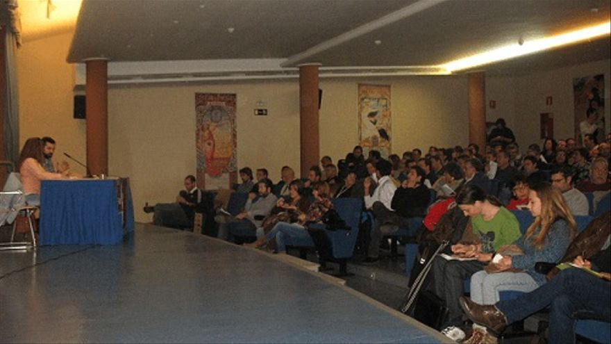 Asamblea constituyente de Ganemos Albacete / Foto: albacetecapital.com