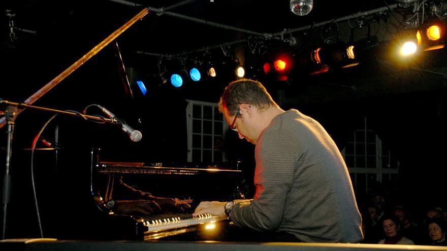 El pianista tinerfeño Polo Ortí, en un concierto en Berlín