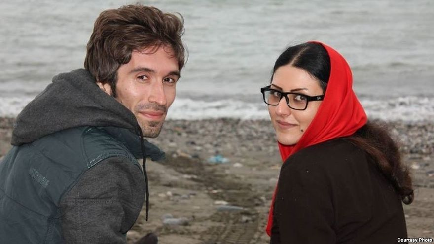 Arash Sadeghi y Golrokh Ebrahim © Courtesy Photo