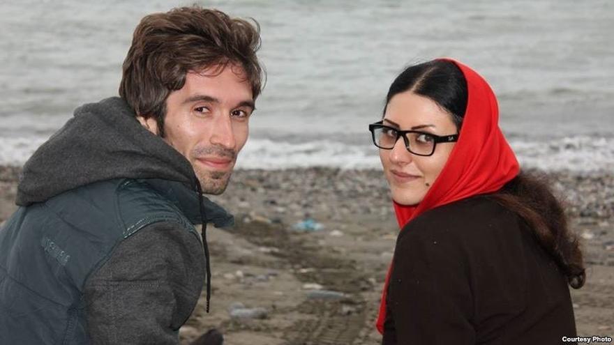 Arash Sadeghi y Golrokh Ebrahim © Courtesy Photo
