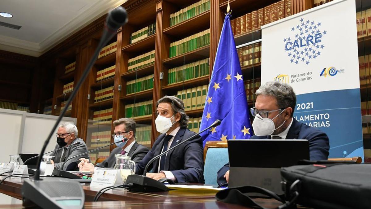 Segunda reunión del Comité Permanente de CALRE de Gustavo Matos bajo su mandato en 2021