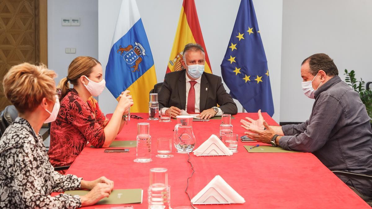 Consejo de Gobierno de Canarias celebrado este j lunes