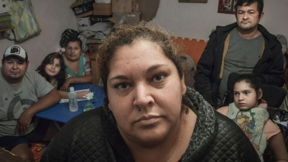 Ramona Medina denunció las condiciones en que su barrio se enfrentaba a la pandemia