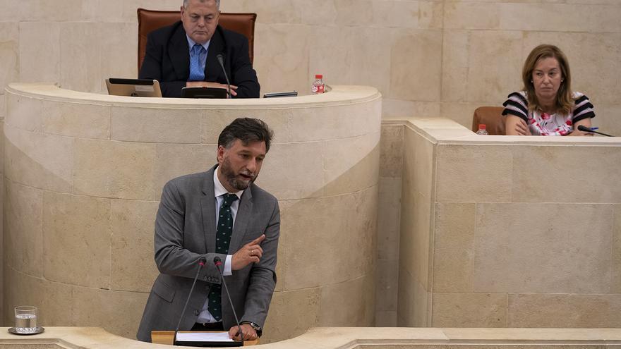 Cristóbal Palacio, portavoz parlamentario de Vox. | JOAQUÍN GÓMEZ SASTRE
