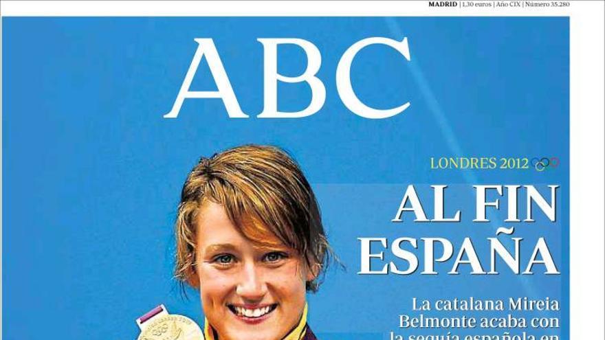 De las portadas del día (02/08/2012) #6