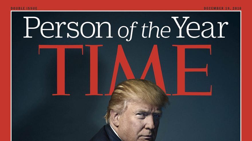Trump, personaje del año para la revista Time.