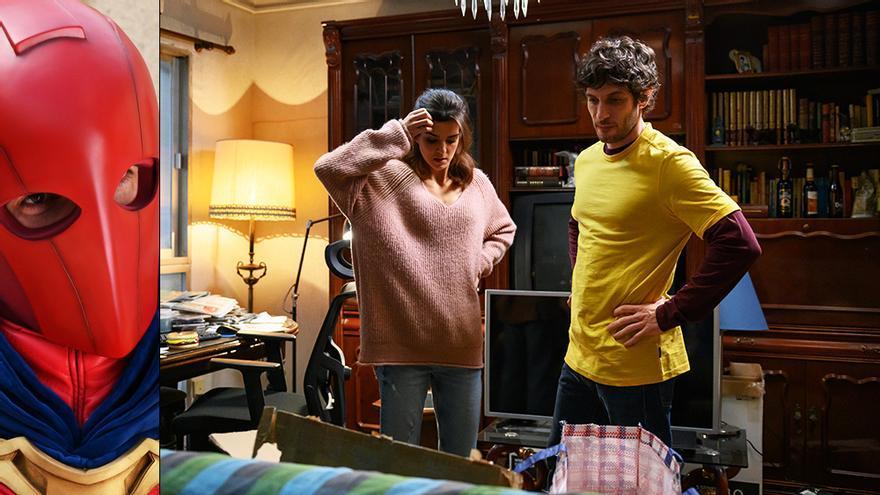 Clara Lago y Quim Gutiérrez en 'El vecino'