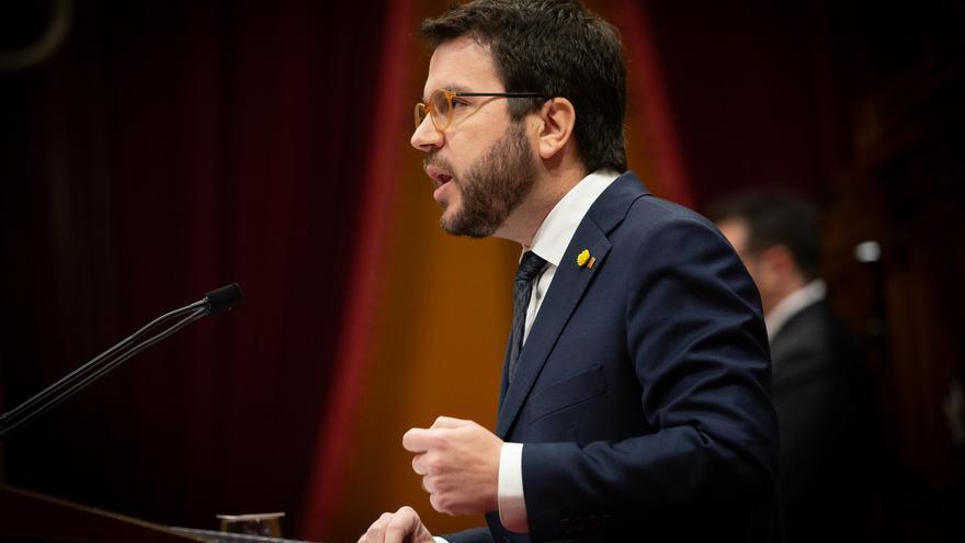 """Aragonès asegura que la organización del MWC """"nunca"""" ha dudado de que Barcelona tenga que ser la sede: """"No hay duda"""""""