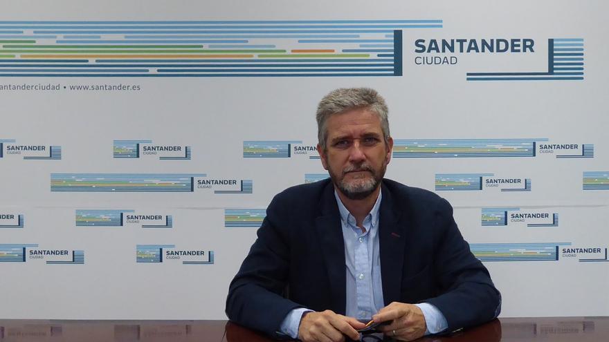 El portavoz de Ciudadanos en el Ayuntamiento de Santander, Javier Ceruti