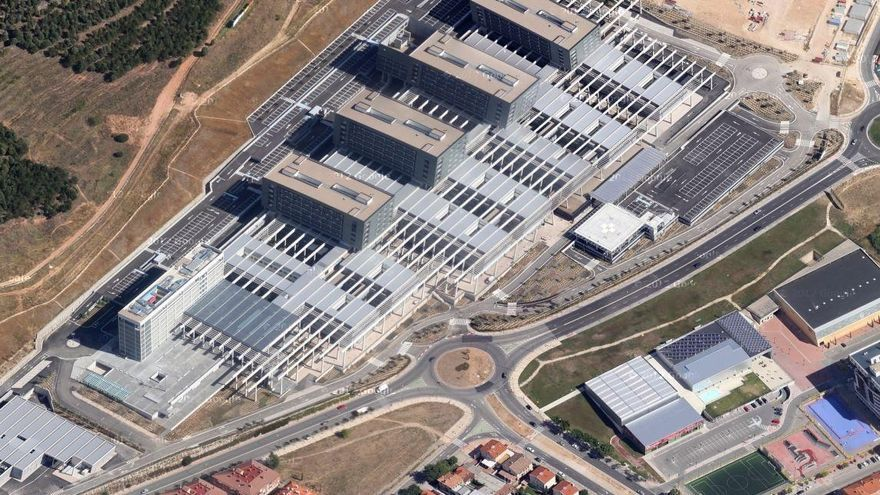 Panorámica del Hospital Universitario de Burgos.
