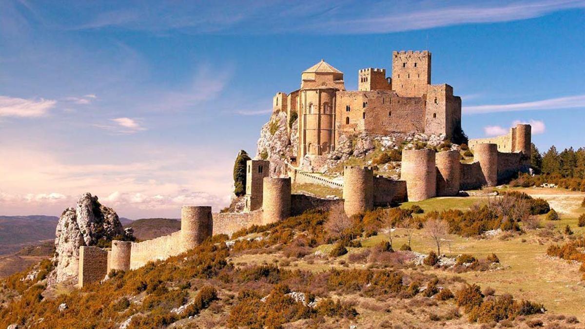 El castillo de Loarre tiene sus orígenes en el siglo XI.