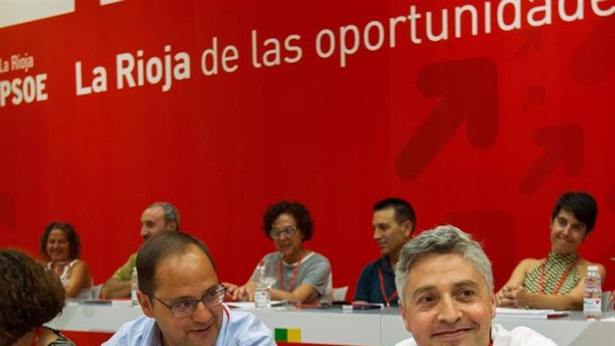 Francisco Ocón, proclamado secretario general del PSOE de La Rioja