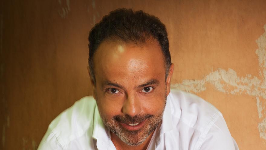 El enólogo palmero Carlos Lozano.