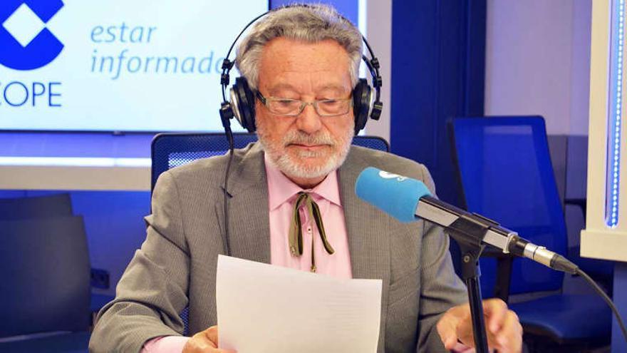 El periodista Luis del Val.
