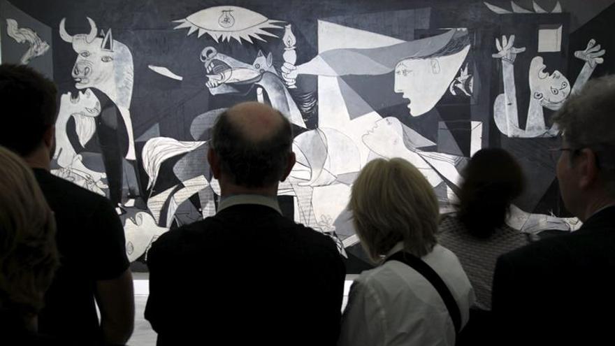 """Se cumplen 35 años de la llegada del """"Guernica"""" de Picasso a España"""