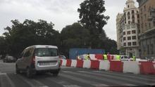 Las obras del anillo ciclista de Valencia estarán terminadas antes de Fallas