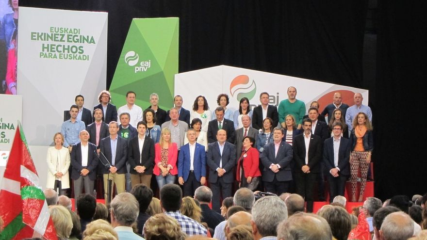 """Ortuzar llama a indecisos e indignados a la participación y afirma que el voto al PNV es """"inversión segura"""""""