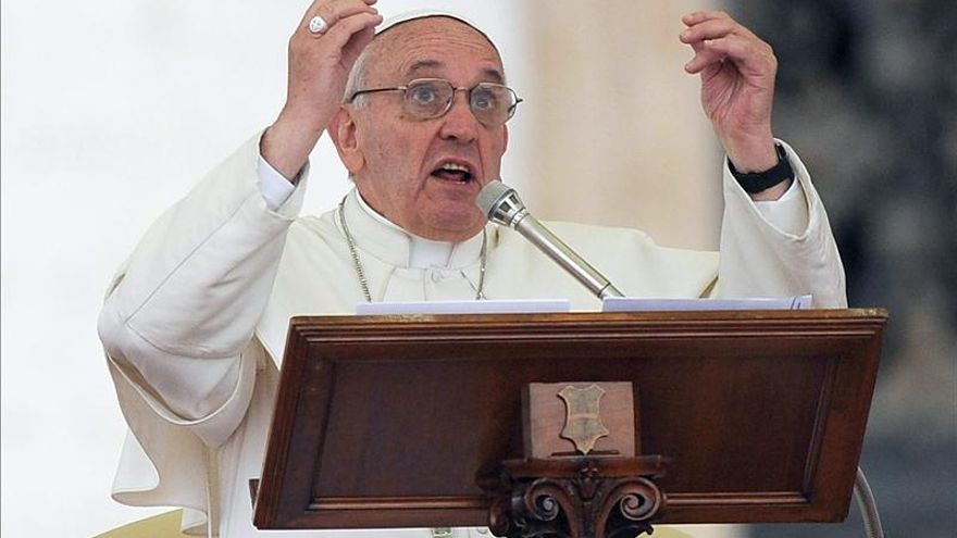 El papa dice a los fieles que ha experimentado con ellos la belleza de la unidad