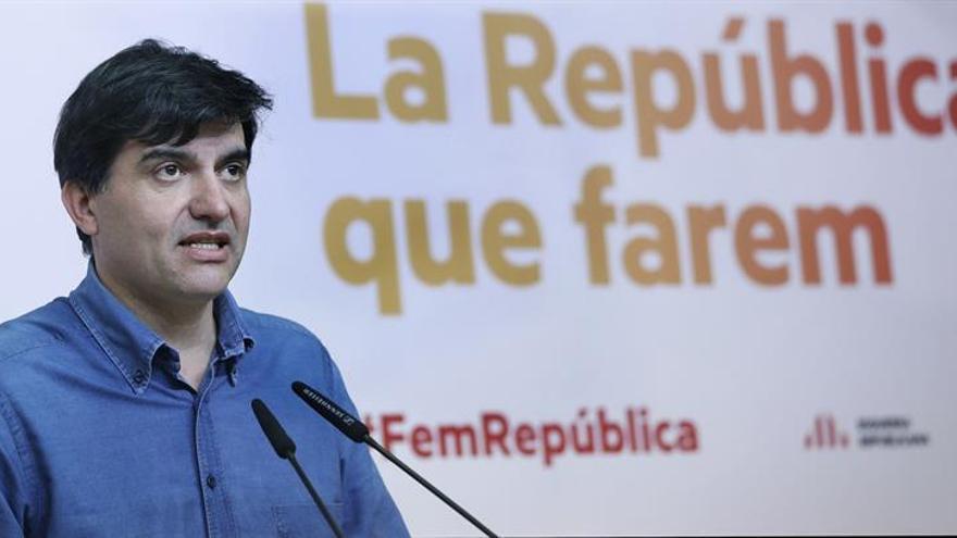 ERC condena la acción de Arran y le invita a trabajar por el referéndum