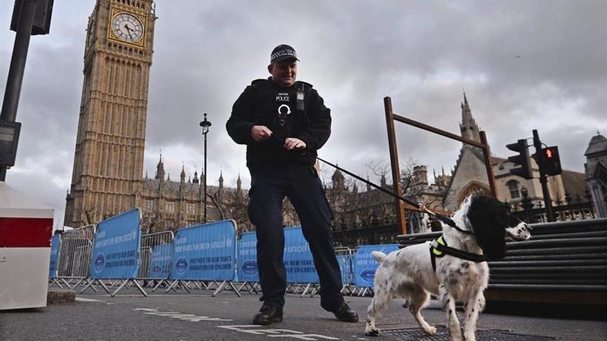 Fuertes medidas de seguridad en Londres por la Nochevieja
