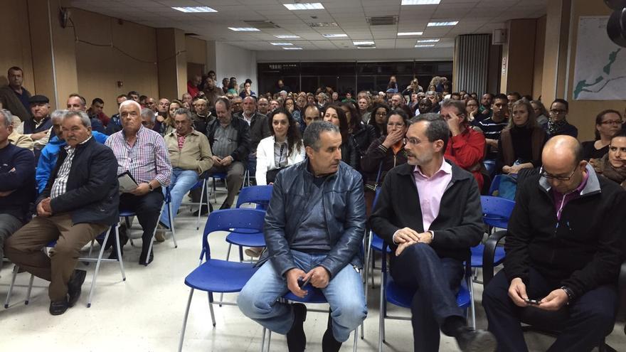 Mario Cabrera y Marcial Morales en la asamblea de Coalición Canaria Fuerteventura (CANARIAS AHORA)