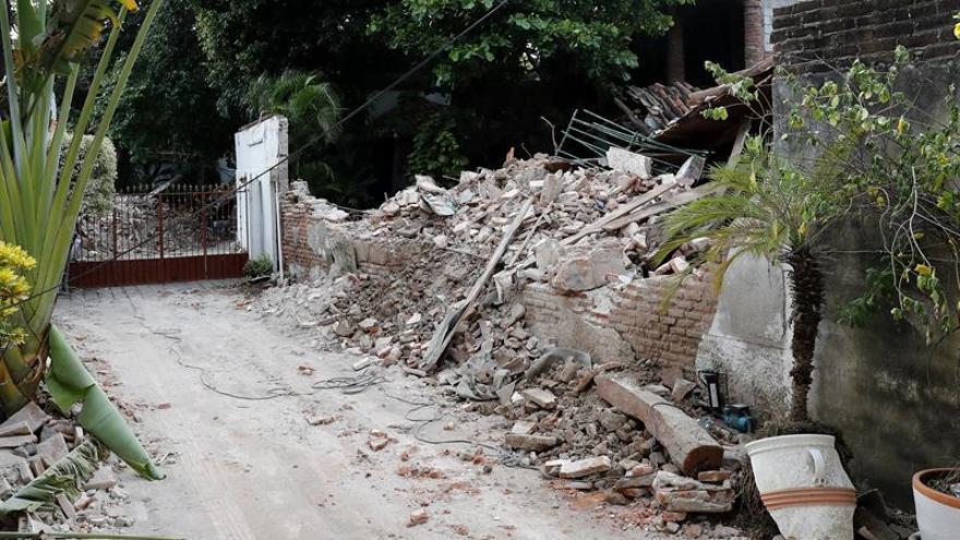 Un terremoto de 5,8 grados sacude el sur de México