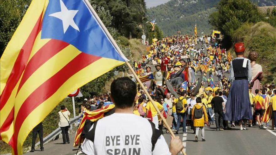 El Consulado de EEUU en Barcelona aconseja evitar las marchas de la Diada