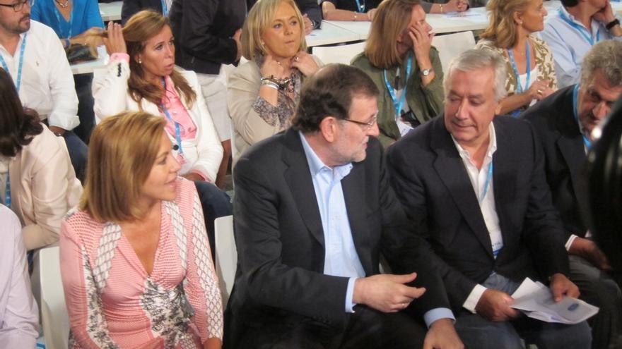 """Cospedal contrapone el """"talento"""" del PP frente al """"talante"""" del PSOE, """"a quien solo le importa el envoltorio"""""""