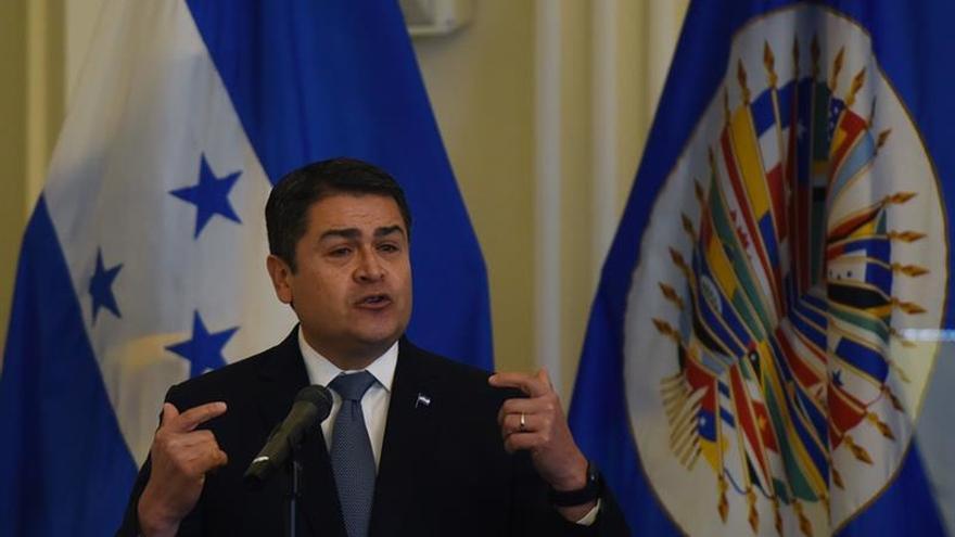 Hernández dice Israel ayudará a repotenciar fuerzas Naval y Aérea de Honduras