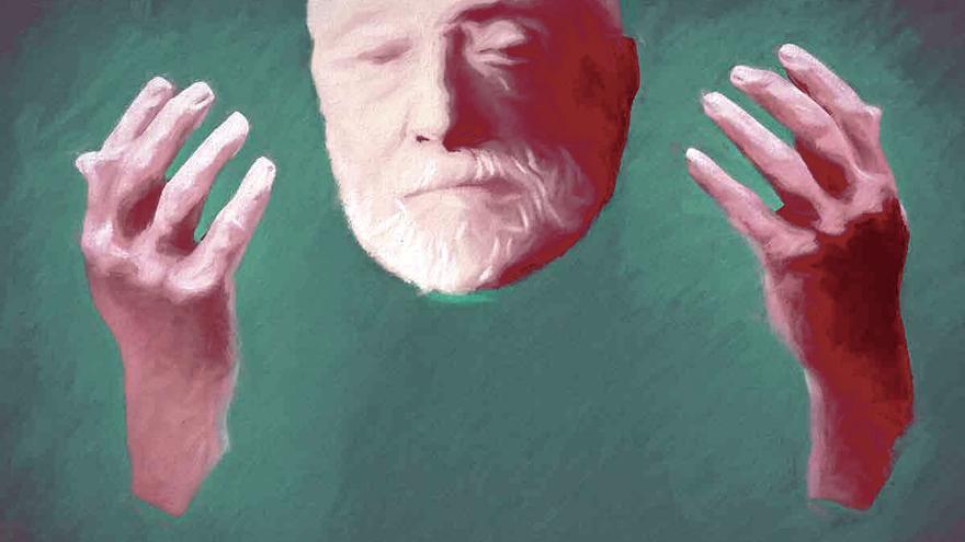 Ilustración del doctor Enrique Diego-Madrazo.   GERMÁN ALONSO