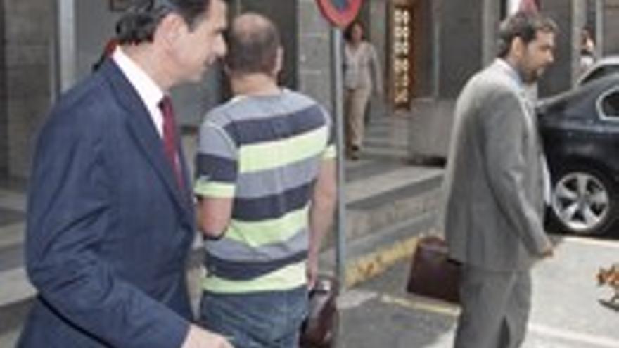 Soria y Cambreleng, a la salida del juicio del pasado 2 de junio.