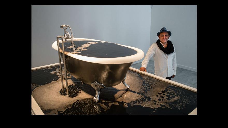 Exposición del artista colombiano afincado en Londres Oswaldo Maciá