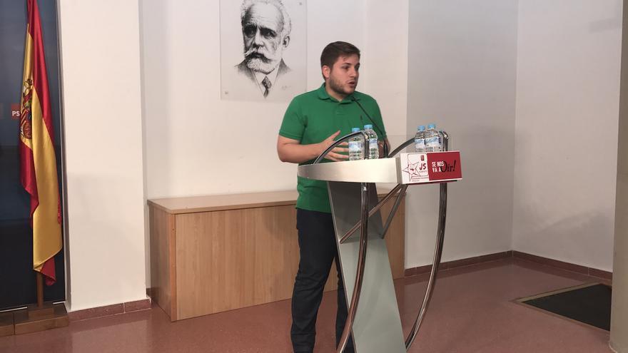 Nacho Hernando presentará candidatura para seguir al frente de las Juventudes Socialistas