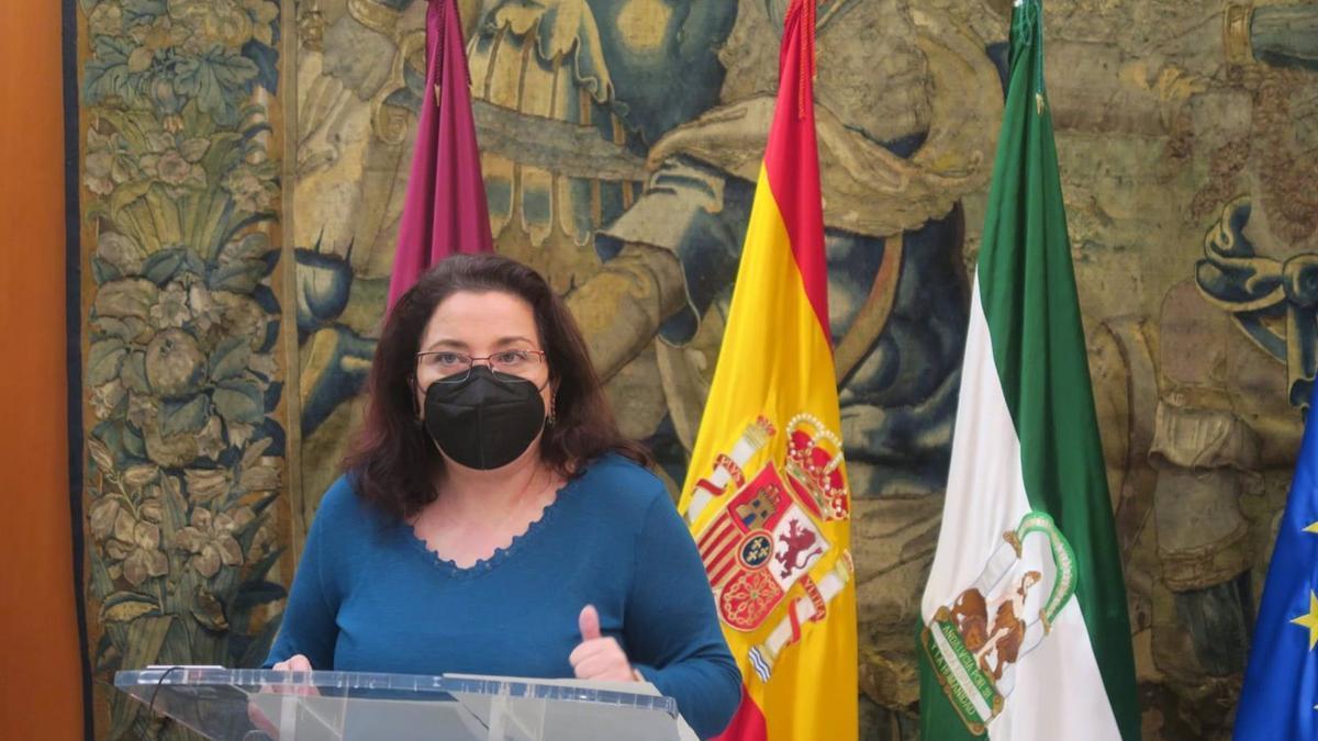 La concejala del PSOE Alicia Moya