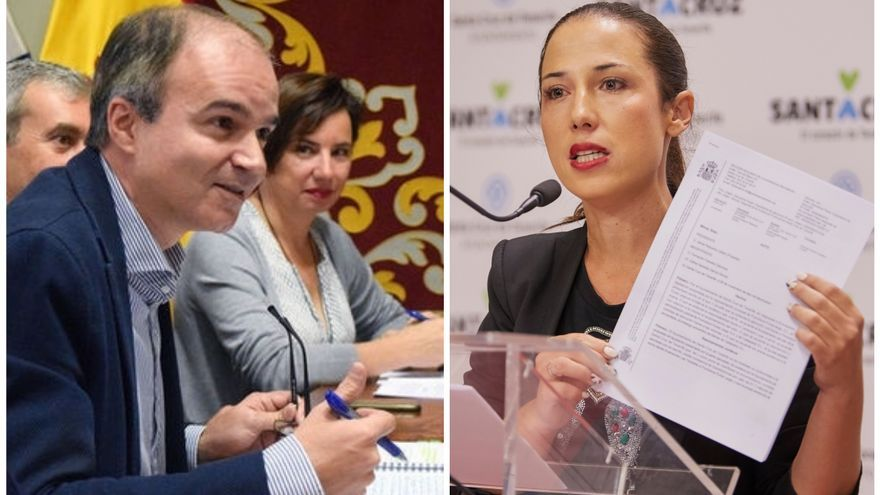 José Alberto Díaz-Estébanez y Patricia Hernández