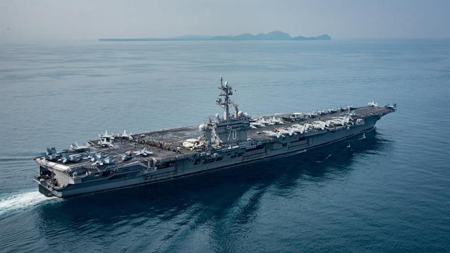 Corea del Sur prepara maniobras conjuntas con el portaaviones nuclear de EEUU