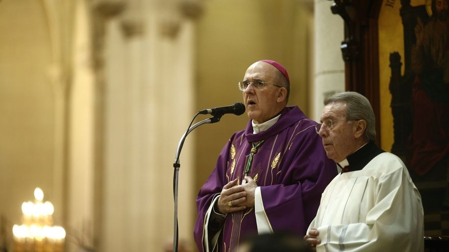 """Osoro toma posesión como cardenal de su parroquia en Roma: """"Dios no se olvida de los hombres"""""""